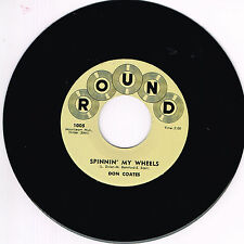 DON COATES - SPINNIN' MY WHEELS / JIGGEDY WIGGEDY WOLLY (50's Rockabilly Jivers)