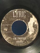 COOKIE & HIS CUPCAKES ~ I'm Twisted ~ Mathilda ~ Lyric Records 45 RPM #1003 HTF