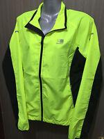 BNWT Womens Sz 18 Karrimor Brand Fluro Yellow Run Athletics Gym Jacket RRP $100