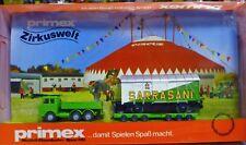 Primex H0 4584 Zirkuswelt Circus Sarasani Strassenroller Von Wiking