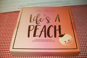 Too Faced Special Edition Life's a Peach set with Better than Sex mascara etc