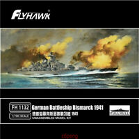 Flyhawk 1/700 1132 German Battleship Bismarck 1941