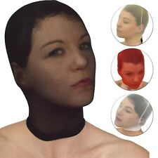 De Nailon Máscara De Strumpfhosen-Stoff Transparente Capucha