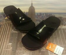 Nike NikeLab Taupo Premium Slide Sandal Black/Black Size 10 849756 001 New