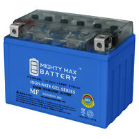 Mighty Max 12V 11AH 210CCA GEL Battery Replacement for ATV Dirt Bike Motorcycles