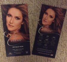 Celine Dion LAS VEGAS Concert Flyer Rare!