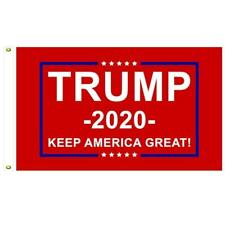 Trump...KEEP AMERICA GREAT.. 3' x 5'  Flag..+ 1 Decal... Red