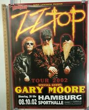 Zz Top German Tour 2002 W/ Gary Moore In Hamburg @ Sporthalle Classic Rock