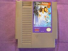 The Krion Conquest (Nintendo NES 1991) Original Cart-Cleaned, Tested, & Working