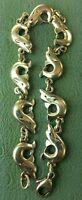 """James Avery Retired Dolphin Bracelet 7"""""""
