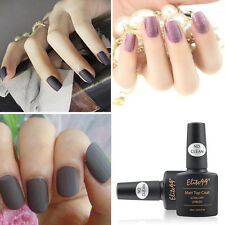 No Cleaning Elite99 Soak off Matte Top Coat Nail UV GEL Polish Matting Finish