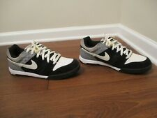 Lightly Used Worn Size 13 Nike Air Twilight Shoes Black White Gray Maize