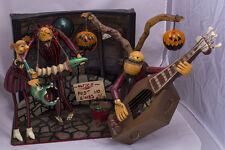 "Zombie Band from ""Nightmare Before Christmas"" Diorama Tim Burton Halloween"