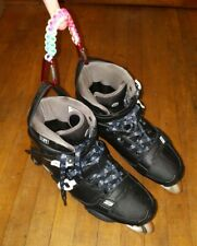 Rollerblade Holder Inline Skate Handle Paracord Strap Clip Rainbow Colors