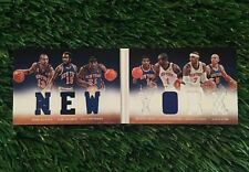 2012-13 Panini Preferred New York Knicks Jersey BOOKLETT Carmelo Kidd #ED /199