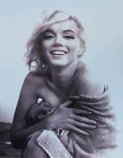 Marilyn Monroe, in towel