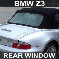 BMW Z3 Plastic Rear Window – Rubber Trim! –  1996-2002 - CLEAR