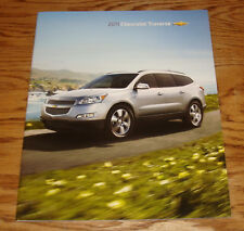 Original 2011 Chevrolet Traverse Sales Brochure 11 Chevy LS 1LT 2LT LTZ