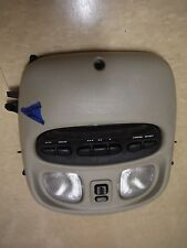 2000 00 Chrysler LHS overhead light dome console switch control OEM grey