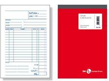 2 pezzi seguita dalla fattura elettronica Fattura di cortesia 1 aliquota 3 copie autoric 15x21