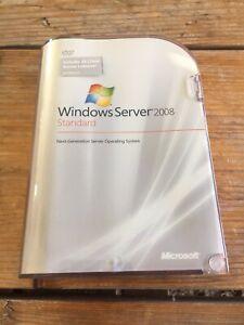Windows Server 2008 Standard 10 cal  32/64 bit Englisch mit MwSt Rechnung