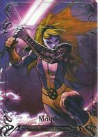 2018 Upper Deck Marvel Masterpieces Base Set Card #35 Magik /1999