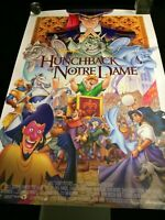 Original The Hunchback of Notre Dame (1996) Movie Poster 27 x 40 Double Sided