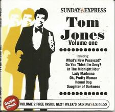 TOM JONES - DISC 1 OF 2 - SUNDAY EXPRESS PROMO MUSIC CD
