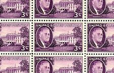 1945 - Fdr & White House - #932 Full Mint -Mnh- Sheet of 50 Postage Stamps