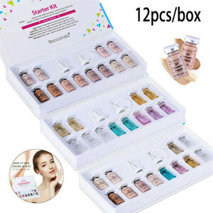 Wholesale 12pcs BB Cream Ampoule Facial Booster Whitening Acne Healing Treatment