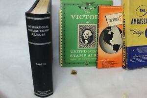 Worldwide Stamp Collection Albums Stock Books Used On and Off Paper 50lbs L@@K!