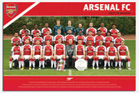 Arsenal FC Official Team Photo 2017 / 2018 Season Poster New - 36 x 24 Inch