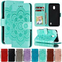 For Nokia 4.2 3.2 2.2 8.1 Plus Sunflower Wallet Flip Leather Phone Case Cover