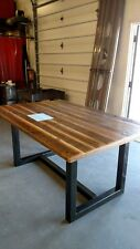 Hand Made Dining Table Reclaimed Wood Top