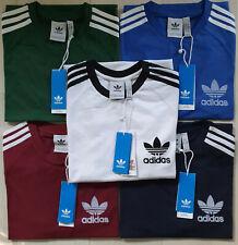 Adidas Originals t shirt Men's California Retro Crew Neck Short Sleeve S M L XL
