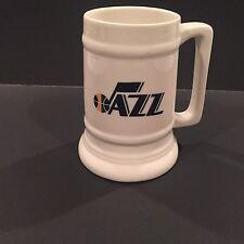 Collectible NBA Basketball Utah Jazz Stein Mug Cup Coors Beer Retro