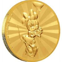 Niue- 2019 - 1/4 oz  Gold Proof Coin-  Minnie Mouse & Friends Retro Carnival !!!