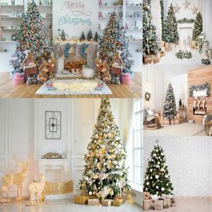 Photo Backdrop Merry Christmas Bookshelf Studio Photography Background Prop SIze
