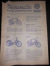 Brochure Sales Brochure Baronia Children sportfahrzeuge Toys Toy Bicycle