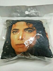Michael Jackson Throw Pillow Key chain MJ Key Ring Phone Décor Collectible Gift