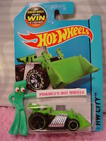 Case F 2015 Hot Wheels SPEED DOZER #1 ∞Green∞HW CITY WORKS