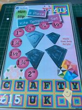 Patchwork Quilt Template Nested Kite 8 Piece set