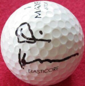 Dennis Hopper autographed signed autograph auto Maxfli golf ball IN PERSON w COA