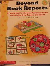 TEACHERS: Beyond Book Reports Grades 2-6 (Scholastic)