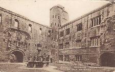 Quadrangle Old Gateway LINLITHGOW Palace West Lothian Scotland 1923 Valentine PC
