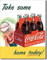 Sprite Boy Coca Cola Coke Soda Pop Vintage Retro Wall Art Decor Metal Tin Sign