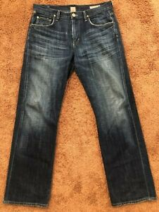 Citizens of Humanity Evans Jeans 33 X 32 100% Cotton Distressed Pockets