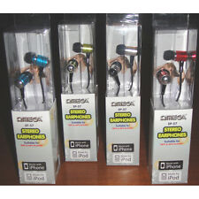 Omega 10057 HP-57 EP-57 Metallic In-Ear Stereo Earphones Headphones MP3 iPhone