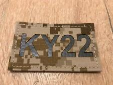 """Infra Red Call Sign IFF Patch """"KY22"""" AOR1 - NSW/DEVGRU/LBT/Eagle"""