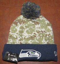 New Era NFL Seattle Seahawks Salute To Service Sport Knit (Camouflage) NEW!